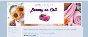 BeautyonCallWeb